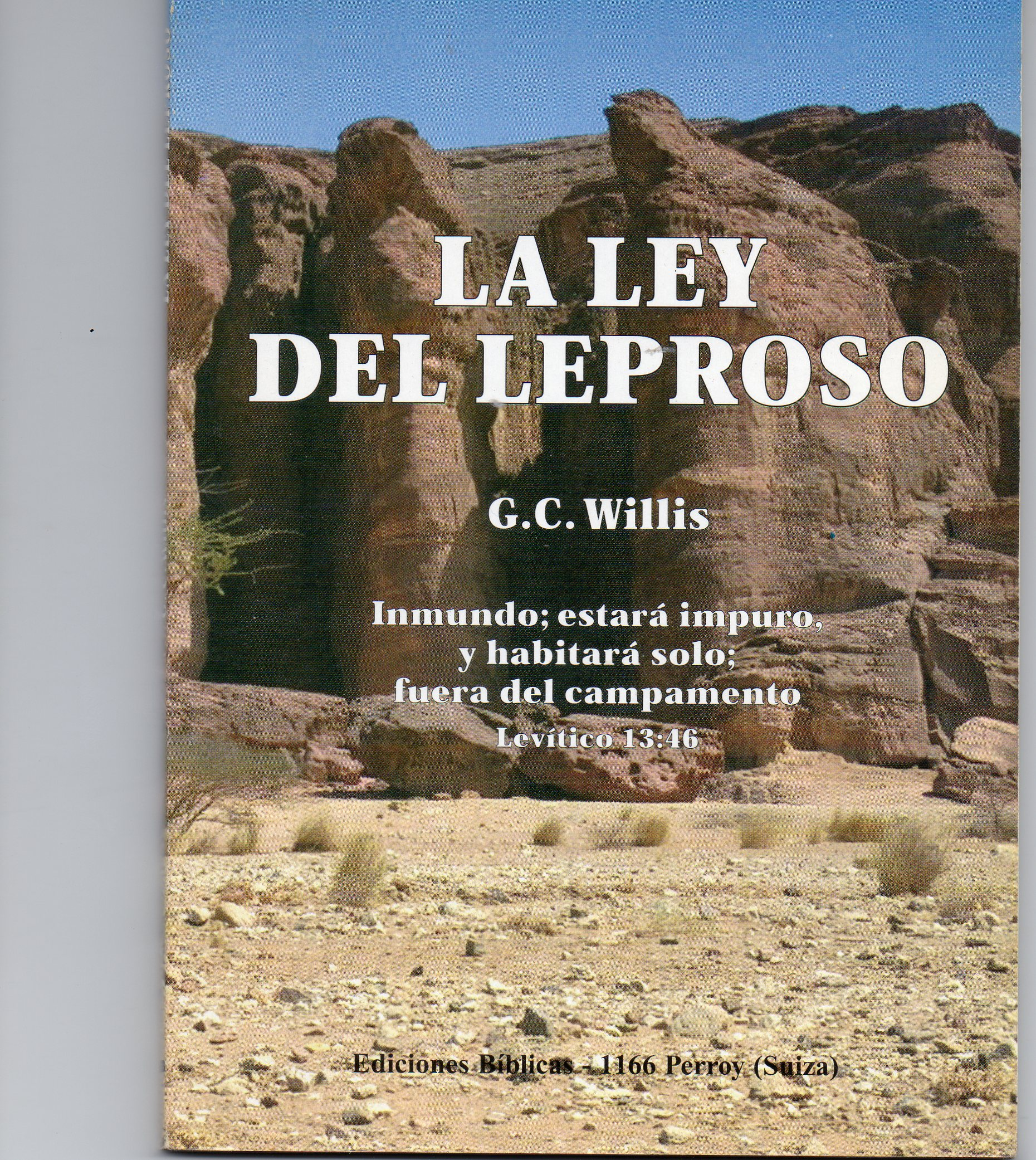 Cover of La ley del leproso