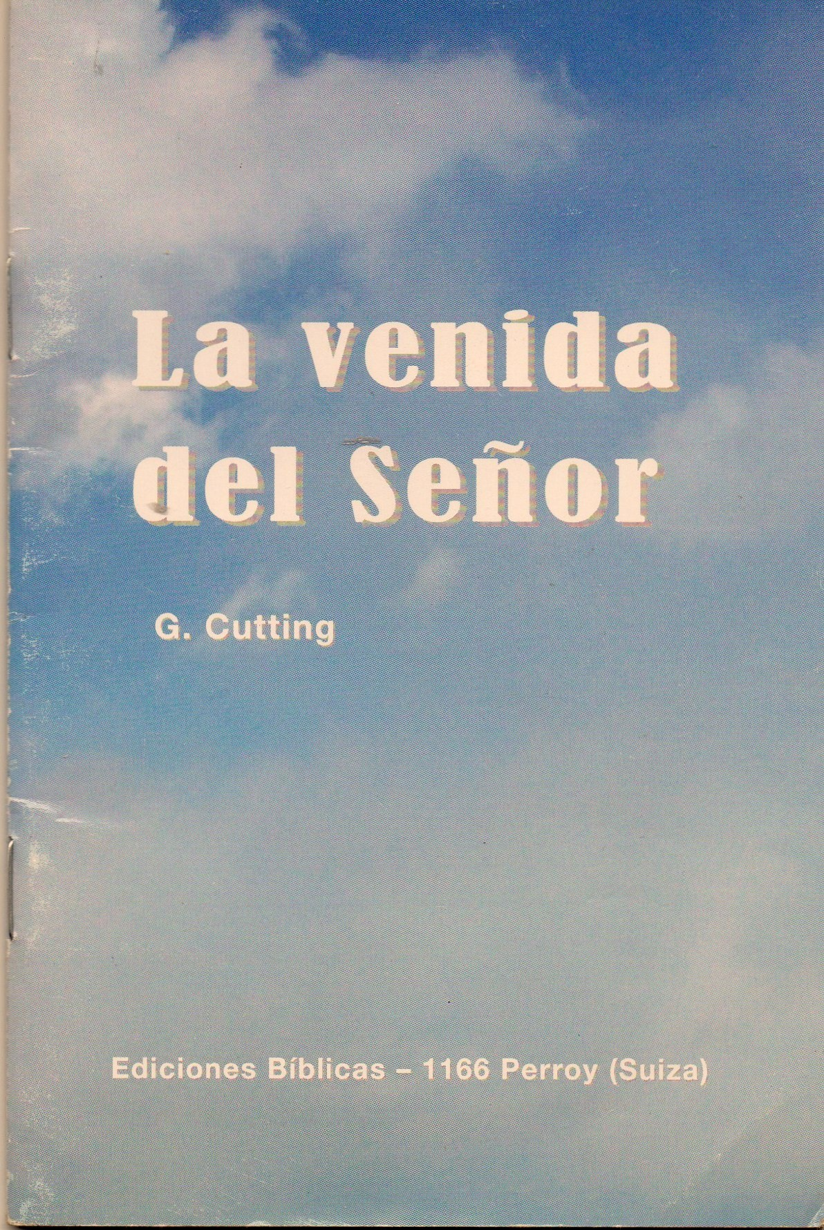 Cover of La venida del Señor